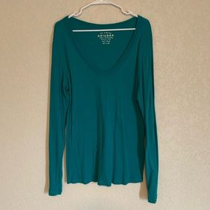 Arizona Teal Long Sleeve